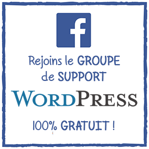 groupe de support wordpress en français sur facebook