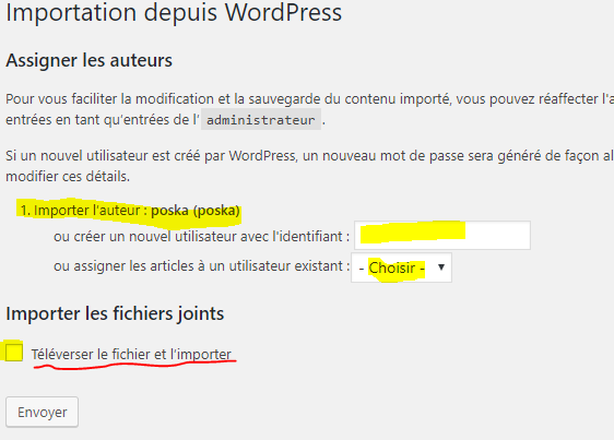 comment importer les images wordpress.com vers wordpress.org